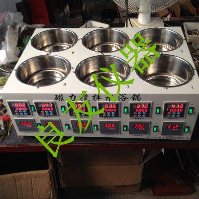 供应金坛九游会老哥论坛 SHJ-6AB磁力搅拌水浴锅 水浴恒温磁力搅拌器