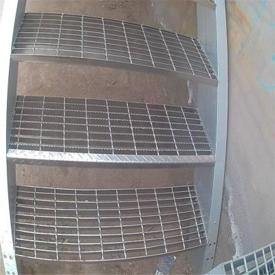 旺来楼梯踏步板报价 复合踏步板 洗车场格栅盖板