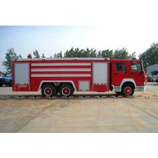 供应重汽后双桥泡沫消防车 重汽HOWO后双桥水罐消防车