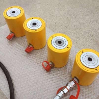 供应预应力穿心式千斤顶钢筋预应力机械