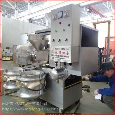 陕西榨油机 多功能螺旋榨油机 榨花生芝麻 冷榨热轧均可 出油率高 南阳东亿厂家直销