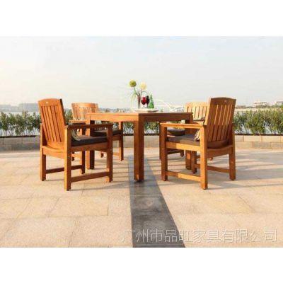 供应安徽黄山菠萝格套椅/广西龙光实木套椅