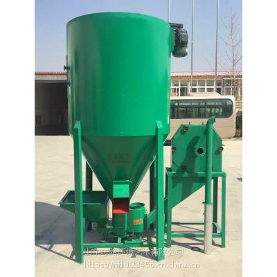 500公斤自吸式粉碎搅拌机 江西畜牧家禽养殖饲料加工设备省时省力
