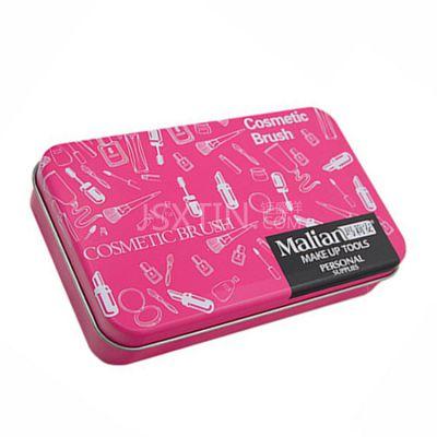化妆品铁盒定制 马口铁化妆品长方形小铁盒