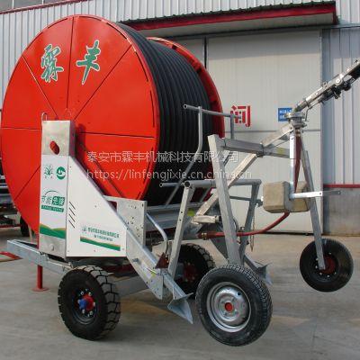小型JP50-150喷灌机 ,农业喷灌一套多少钱 ,霖丰自动浇地视频