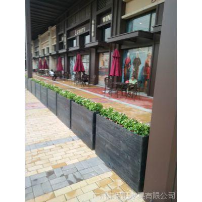 供应品旺隔断栏木质花箱HX-015