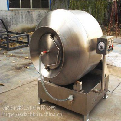 ***不锈钢真空滚揉机 肉制品加工设备 大型肉类腌渍入味机