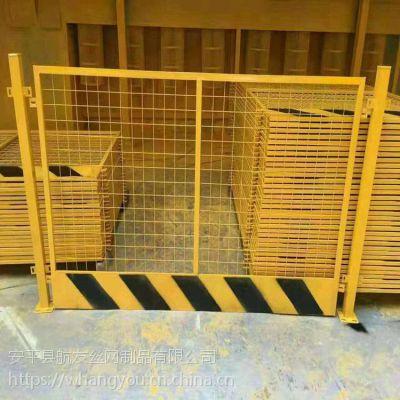 基坑护栏厂家_铜川基坑临边护栏_镀锌材料防护栏
