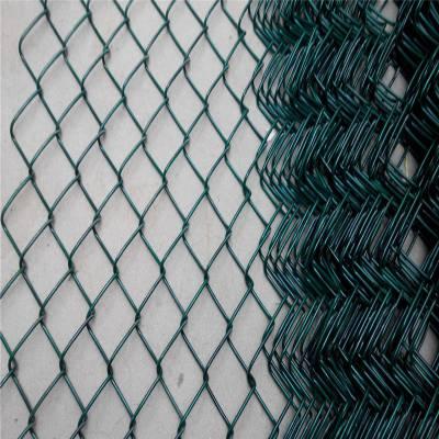 镀锌包塑勾花网 勾花网机械 河南体育场围网