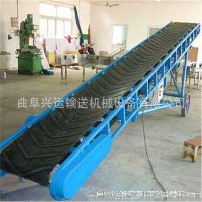 卡车装卸货用皮带输送机 南京市袋粮上车用皮带输送机
