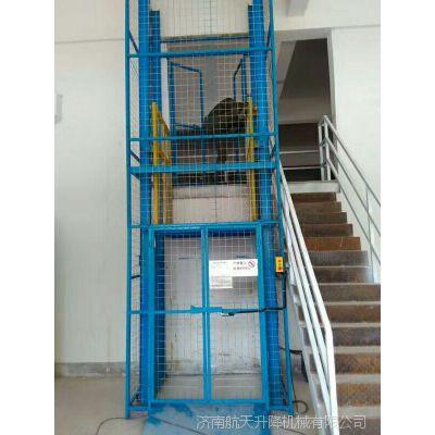 石首厂房液压升降货梯厂家 安装一台链条式升降机多少钱 固定电动升降台