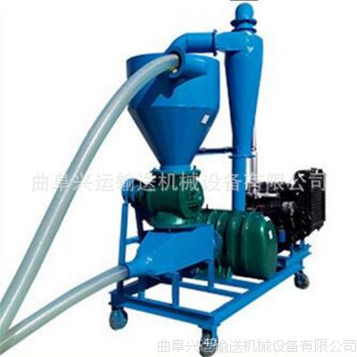 QL-35型谷物入库用吸粮机 邳州市柴油机带气力输送机