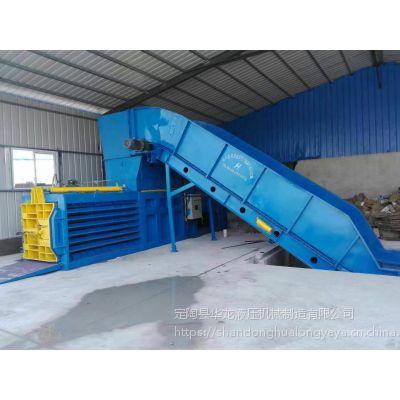 江阴哪个厂家的堵门式废纸打包机质量好,江阴堵门式废纸打包机哪个厂家做的质量好-华龙