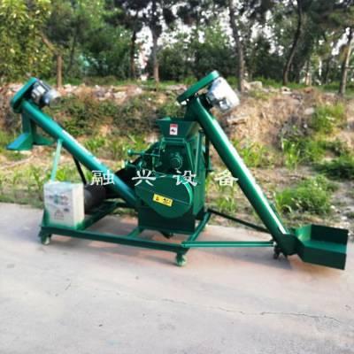 干稻草粉碎机使用说明 小型锤片式大曲块粉碎机 融兴 家庭榨油用花生破碎机