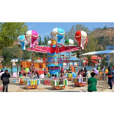 郑州宏德游乐大型户外游乐设备桑巴气球旋转摇头升降亲子互动游艺机逍遥水母