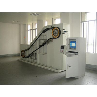 Delta德尔塔仪器供应自动扶梯梯级滚轮疲劳耐久性试验台