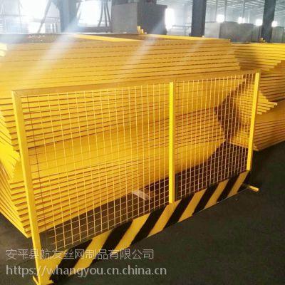 建筑基坑围栏_建筑基坑围栏厂家_镀锌钢材安全隔离栏