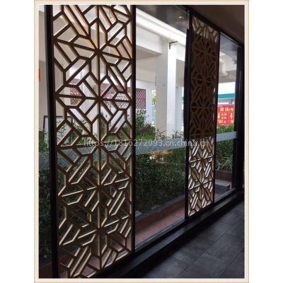 太原定做艺术铝窗花、木纹铝窗花