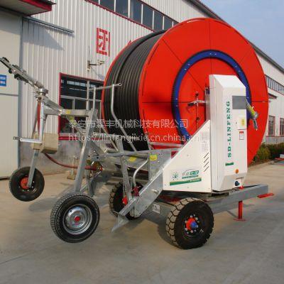 霖丰JP50-150喷灌设备多少钱一台,平均一亩地需要 多少钱,自动喷灌机厂家直销