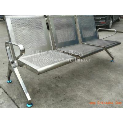深圳公共排椅-304不锈钢排椅-高铁座椅工程