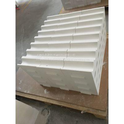 供应钢化炉罗拉孔 陶瓷纤维辊密封 硅酸铝纤维 加工异形板 高温异型品 高温炉膛 工业窑炉用耐火材料