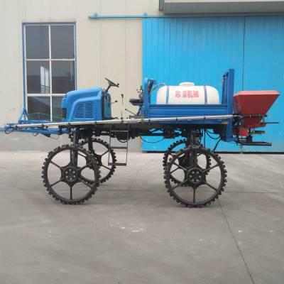 农用水旱两用座驾式打药机 水稻田施肥打药机 柴油四驱四轮喷药机