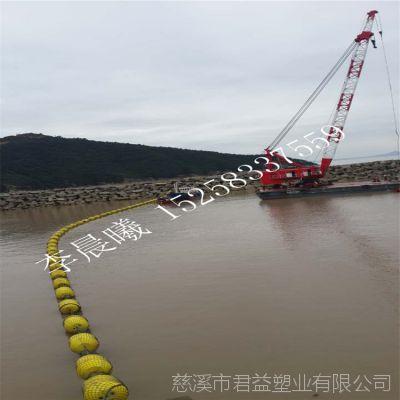 水上环保浮筒 岸边围栏浮筒 君益直径800*1100浮筒报价