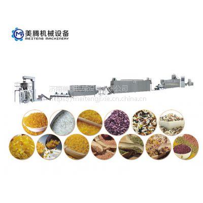 苦荞大米加工设备营养大米生产线人造大米机器