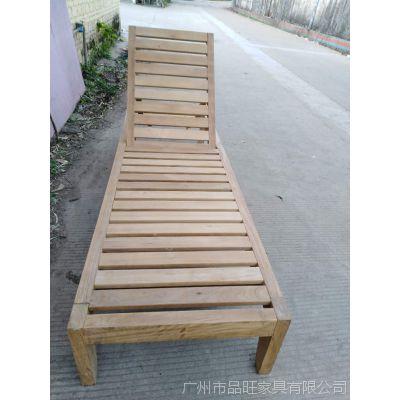 供应柚木沙滩躺椅TY-013