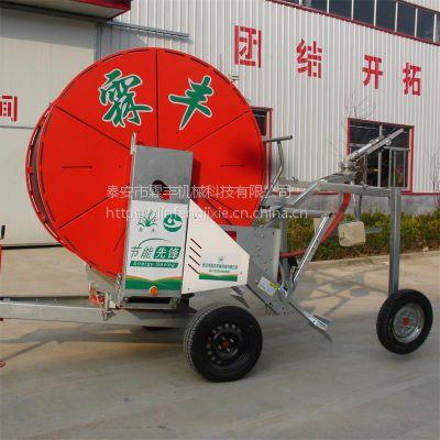农业灌溉绞盘式喷灌机JP75系列喷灌设备山东霖丰厂家直销 性价比高
