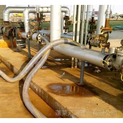 聚四氟复合软管厂家 输油 RGJ 批发 供应商化工软管 山东蓬莱万源管业