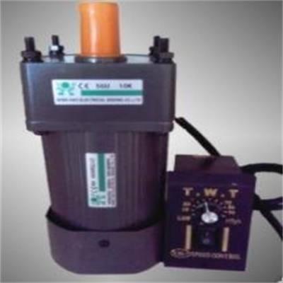 微型调速电机 120W定速减速机 小型皮带输送机***调速电机