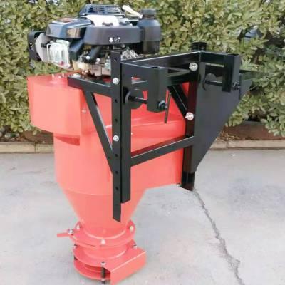 欧拓机械 小型车挂式的除冰剂撒布机 离心式除雪撒盐设备 道路机械
