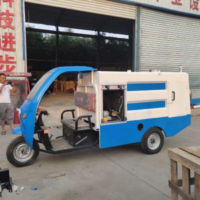 苏州小型电动四轮洒水车 电动四轮高压清洗车 高压清洗车价格