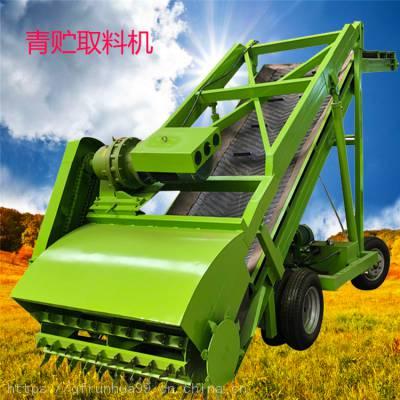 加工定制7米青贮取草机 节能环保扒草车 养牛场大型号抓草机