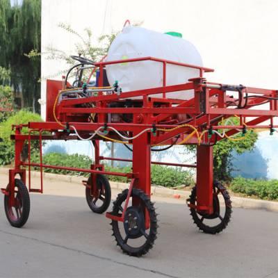 柴油電啟動四輪打藥機 果樹殺蟲打藥機 玉米地除草噴霧器