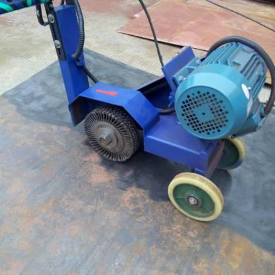 船厂 钢厂专用手推式打磨机 M3030手推式砂轮机 焊缝抛光机