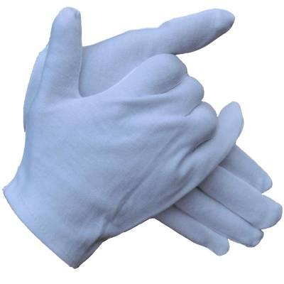 儿童纯棉白手套小学生幼儿园活动舞蹈演出礼仪手套