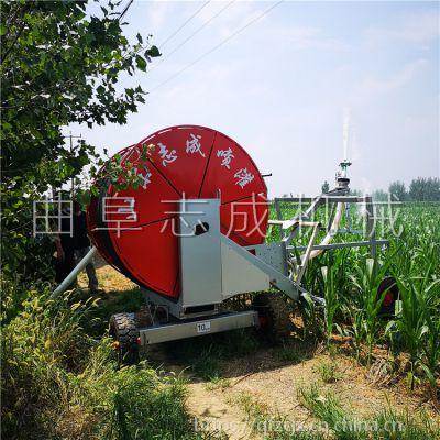 小型50-180型自动回管灌溉机 大面积农田喷灌机 玉米小麦省人工浇地机