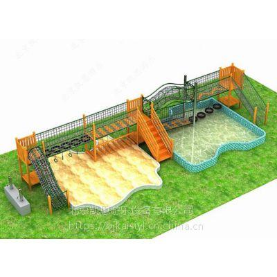 儿童木质组合滑梯,幼儿园户外拓展攀爬架,小区综合原木攀爬网,景区原木拓展设施厂家直销定做