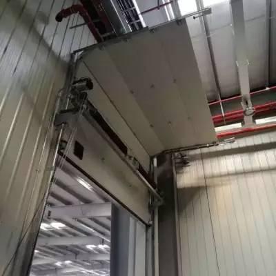 天津阔福门业快速门厂家提升门安装厂家