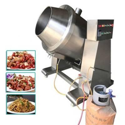 高效学校配餐炒菜机 大型商用炒菜机 食堂用炒菜设备