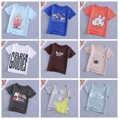 贵州毕节***质量好童装夏季短袖童T恤3-5元地摊夜市便宜t恤批发
