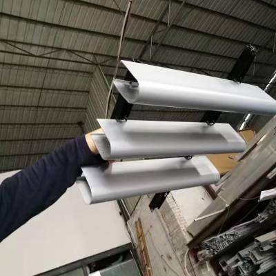 型材铝方通V字型铝方通造型铝方通天花室内集成吊顶