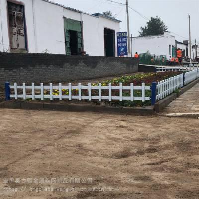 PVC草坪护栏 学校花池护栏 绿化草坪栅栏