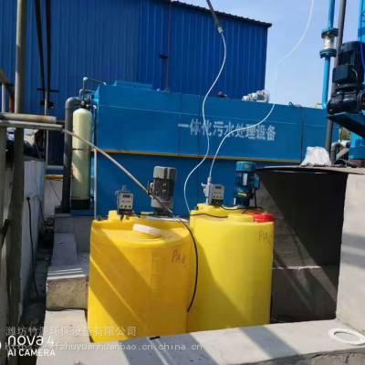 宜昌养猪场污水处理设备,工艺先进,排放达标-竹源