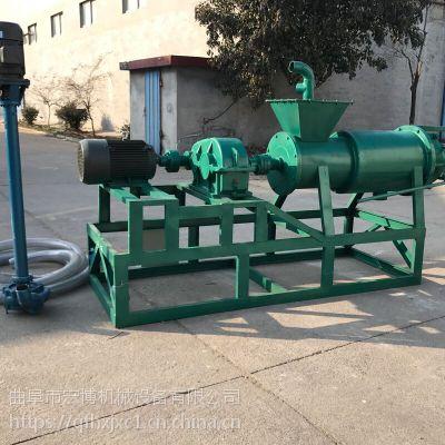 豬糞干濕分離機 養殖場糞便干濕分離機 螺旋式豬糞脫水機