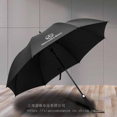 暗藏式安全开关直杆广告伞 全纤维防风伞架高尔夫伞定制工厂