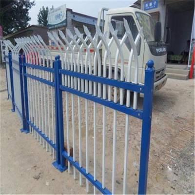 社区铁栅栏 锌钢护栏供应报价 景区铁栏栅现货