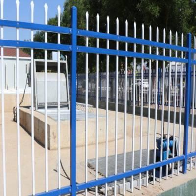 铁栏栅供应 院校铁管栅栏厂家 学校铁栅栏电话